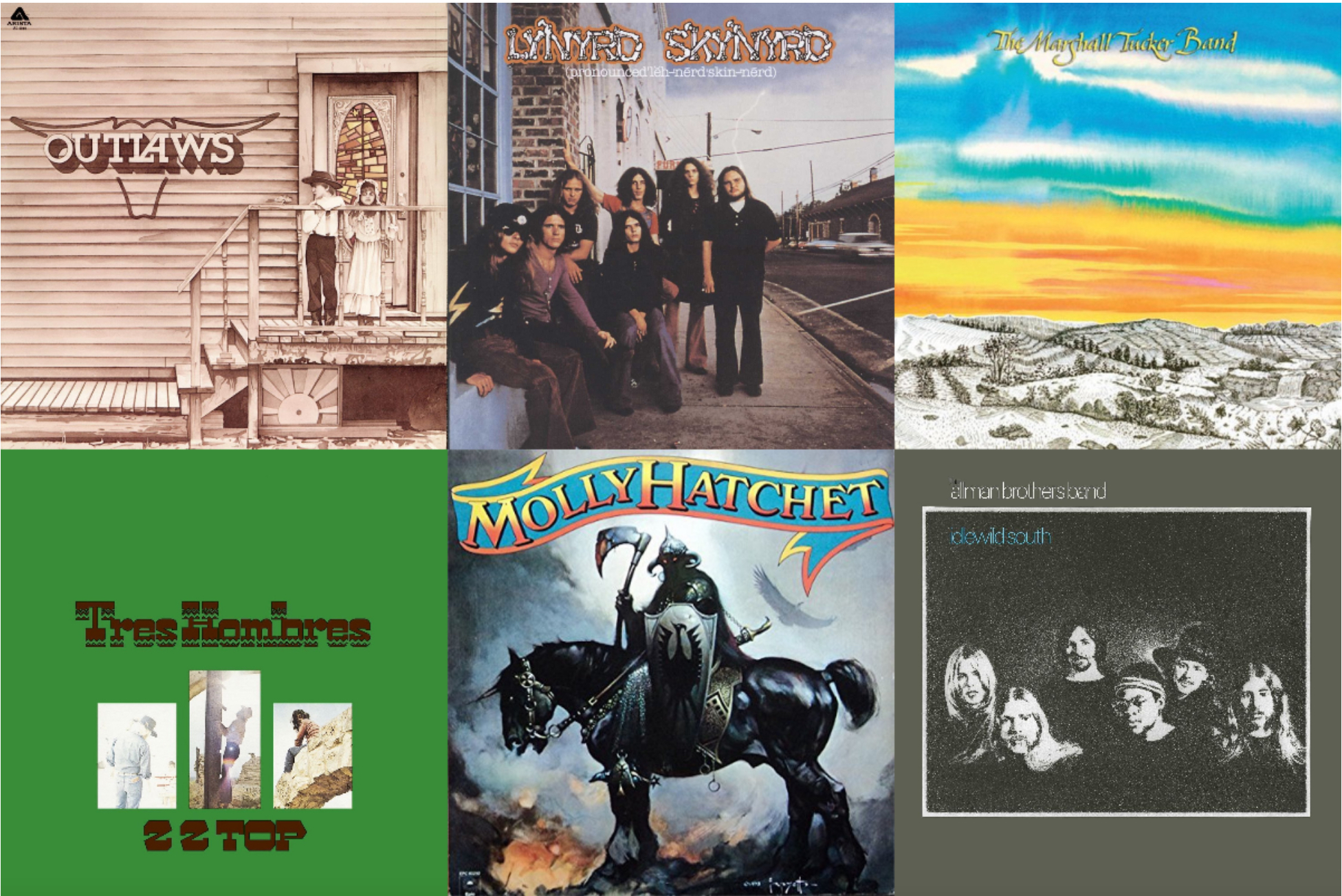 11 Great Southern Rock Albums | Best Classic Bands