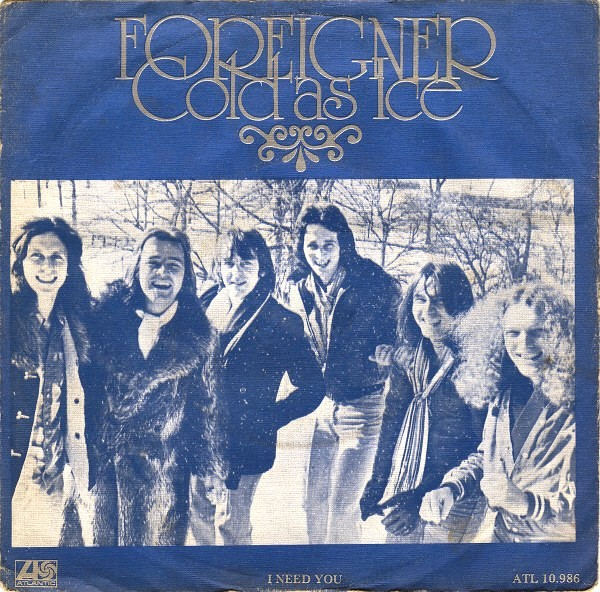 Foreigner Cold as Ice