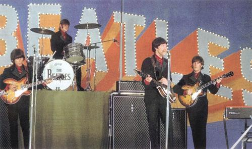 Beatles onstage at Budokan