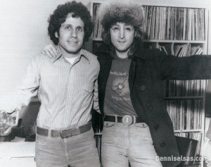 John Lennon drops in to chat with Dennis at WNEW-FM in 1974