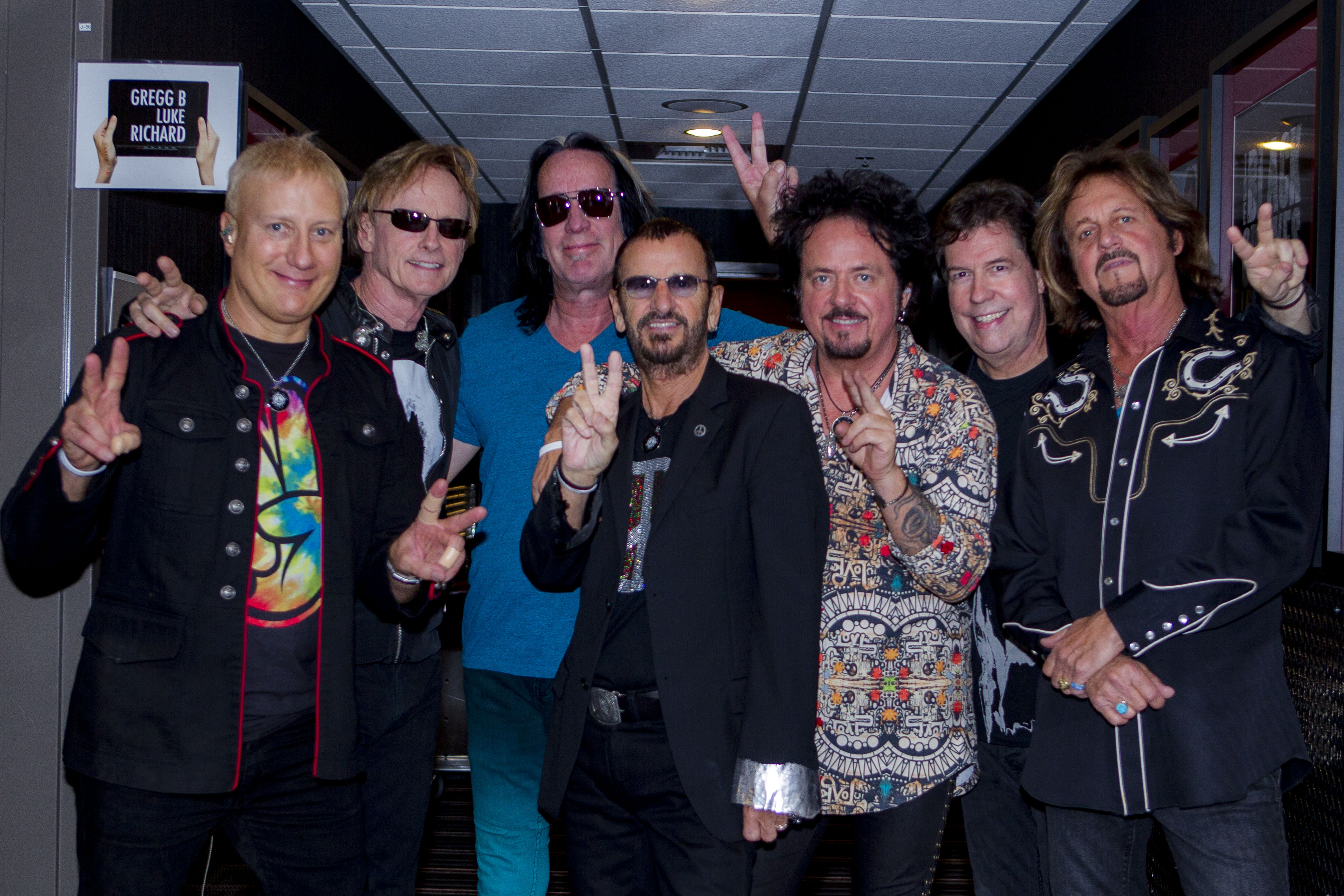 Ringo & his latest band of All-Starrs/Photo by Scott Ritchie