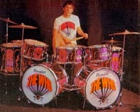 "Keith's famed ""Pictures of Lily"" drum kit made its U.S, debut that July '67 night"