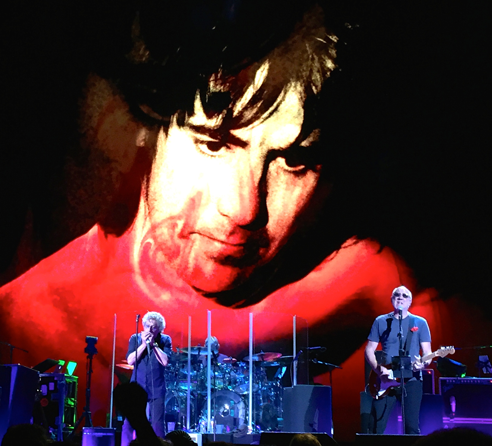 Keith & John were not just there in images but spirit/Photo by Daniel Carney