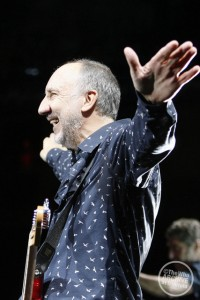 """We're lucky to be alive and still touring,"" says Pete/Photo courtesy of The Who.com"