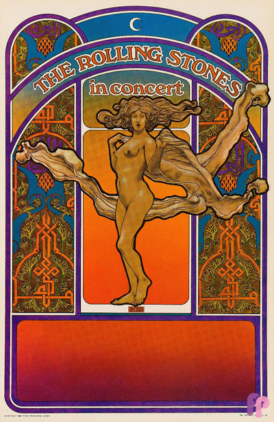 The 1969 tour poster