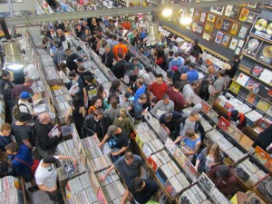 Customers pack the aisles at Denver's Twist & Shout for RSD 2014/Photo courtesy of Twist & Shout