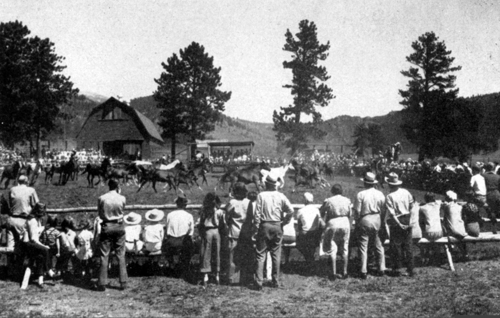 In the 1930s Caribou was the first Arabian horse ranch in America.