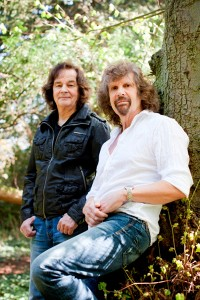 Singer Blunstone (l) and Keyboardist Argent (r) today