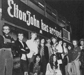 elton John Has Arrived LA 1970