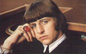 """Ah, the famous Ringo"" in Help!"