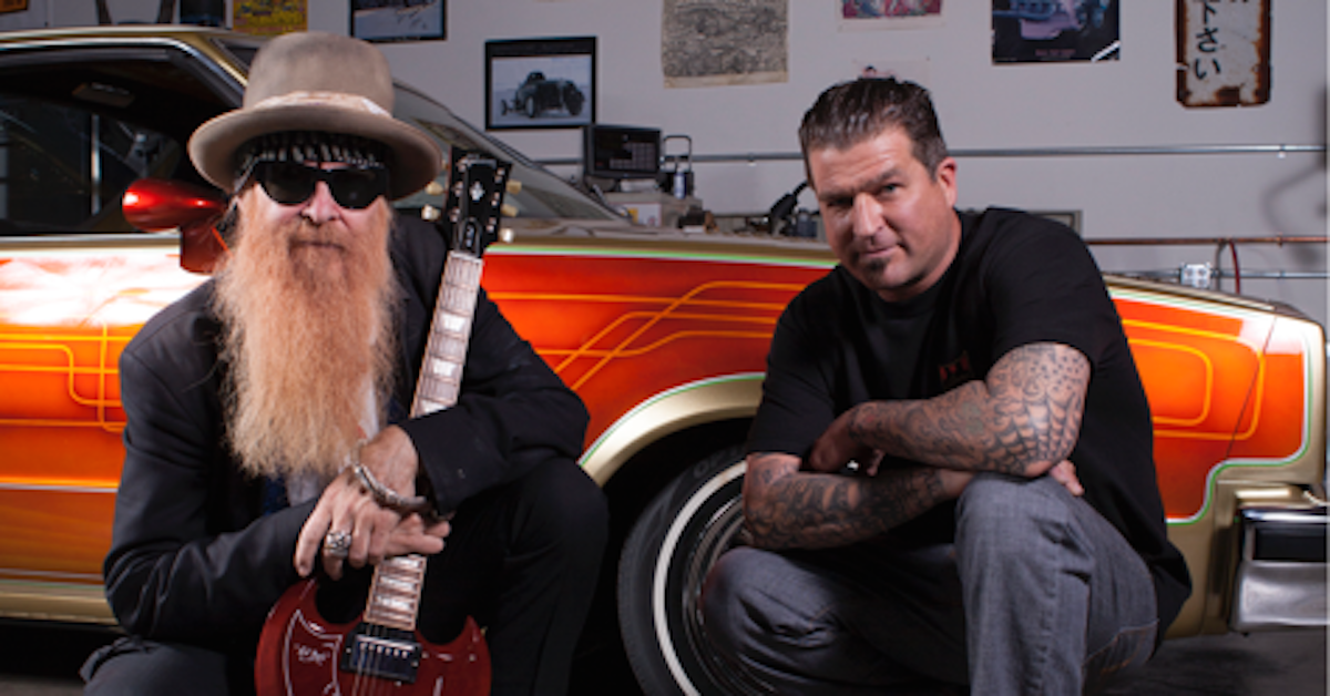 zz top�s billy gibbons starring in discovery pilot best