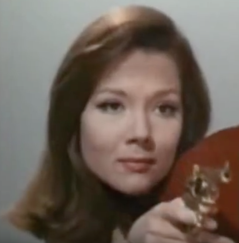 Diana Rigg's Emma Peel exuded British style even when brandishing a weapon