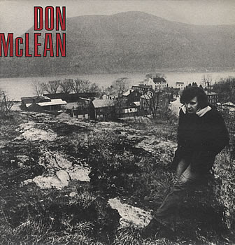 "The young McLean in the hills above Cold Spring, NY, where he started writing ""American Pie."""