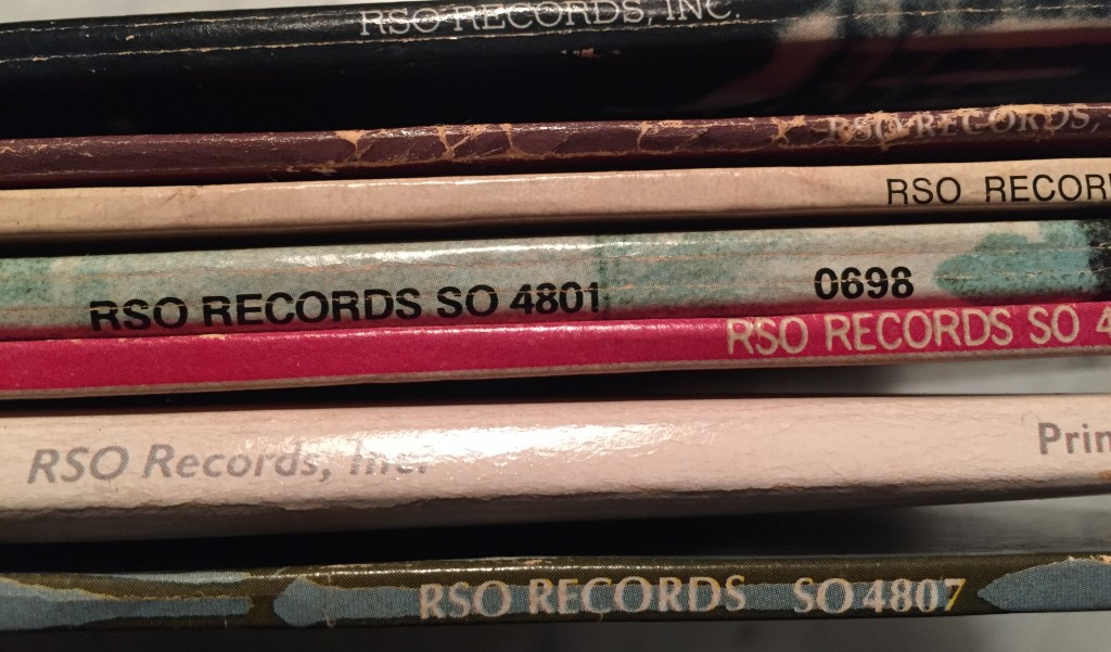 RSO Records spines