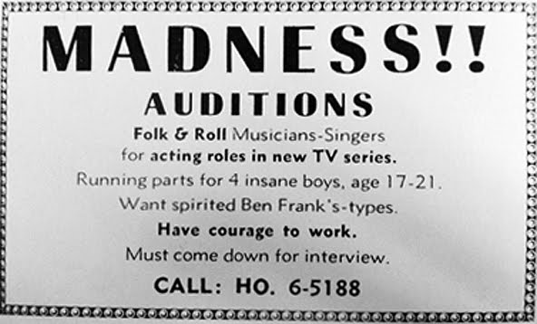monkees-auditions