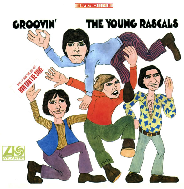 Rascals Groovin cover