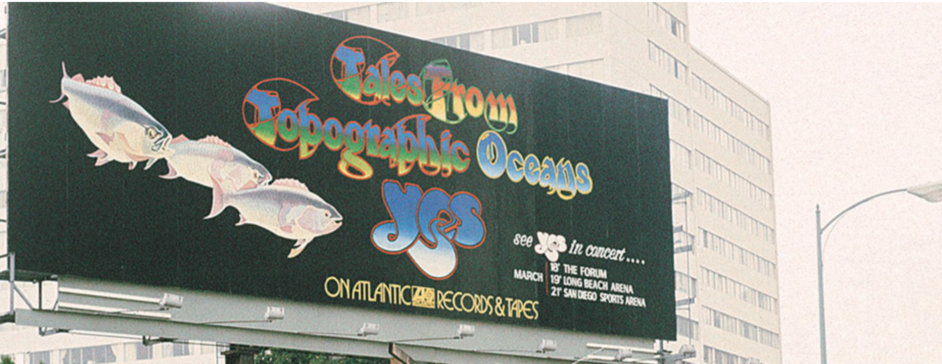 Back in the day, record labels would back their biggest stars with billboards on Los Angeles' Sunset Strip