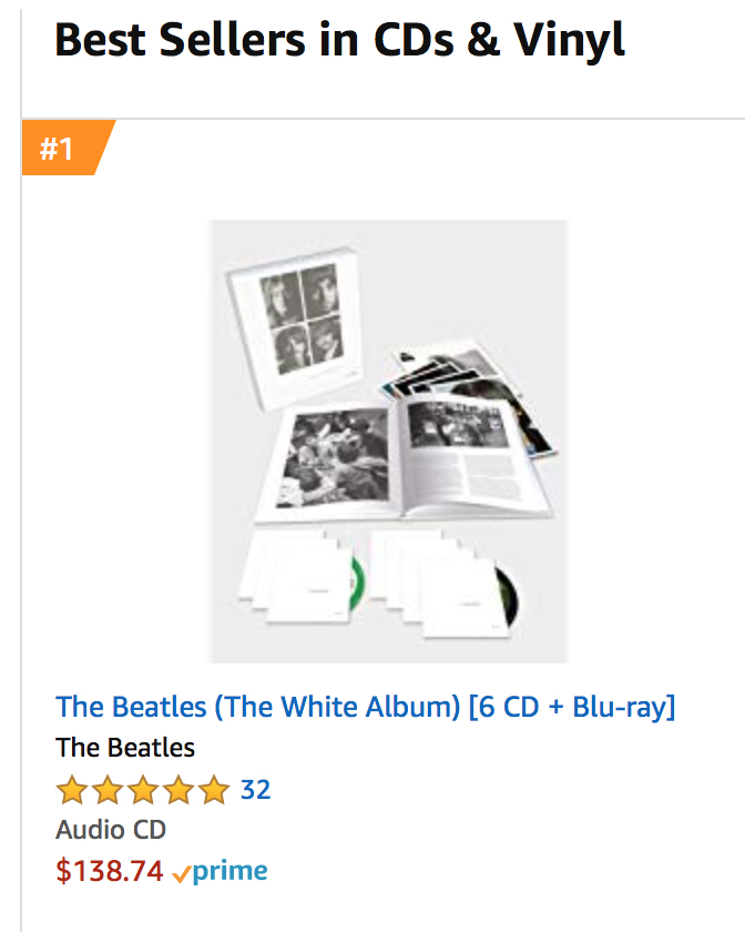 The Beatles' 'White Album' 50th Reissue is #1-Seller | Best