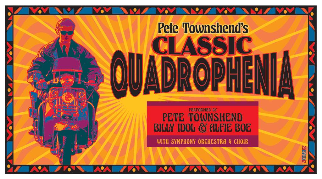 Pete Townshend's Classic Quadrophenia With Billy Idol Announces US Tour Dates