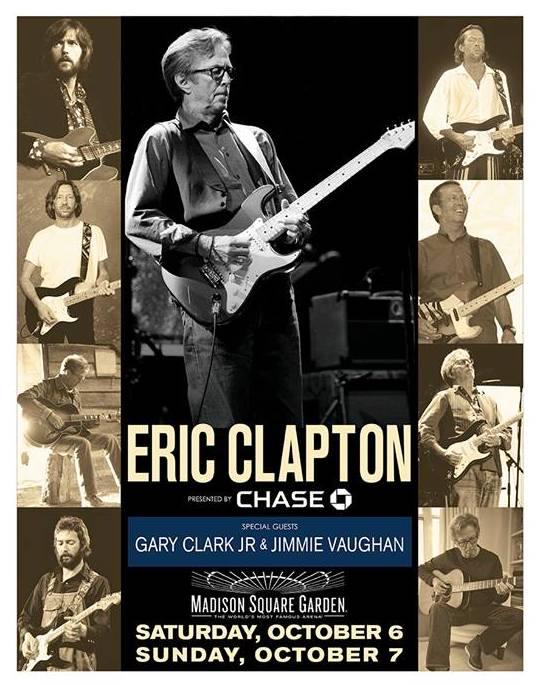 Eric Clapton Books 2 Madison Square Garden Dates Best Classic Bands