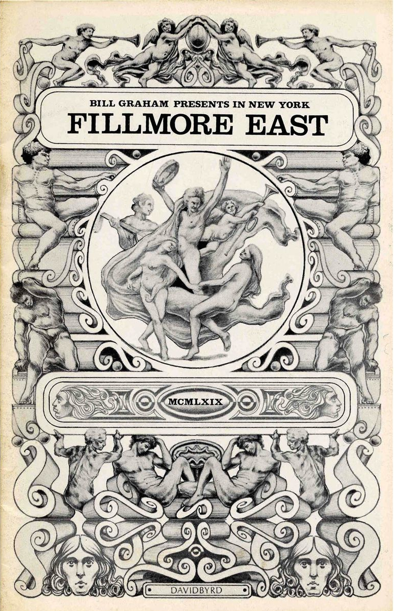 Fillmore East handbill