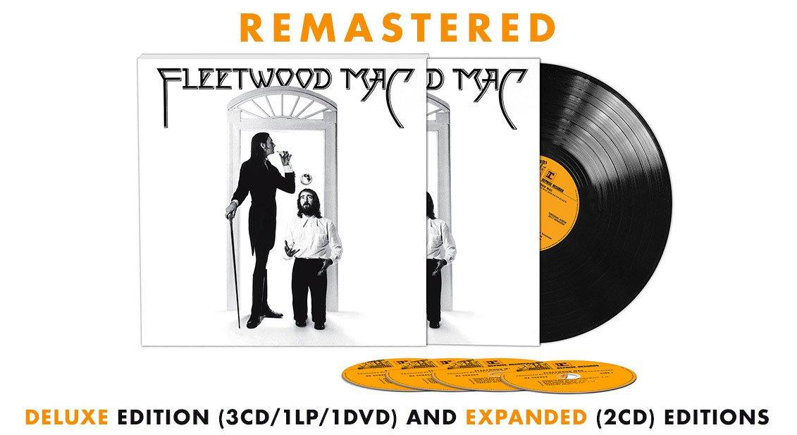 Fleetwood Macs 1975 Self Titled Lp Expanded Hear Best Classic Bands