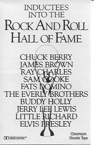 Rock Hall Inaugural Induction cassette
