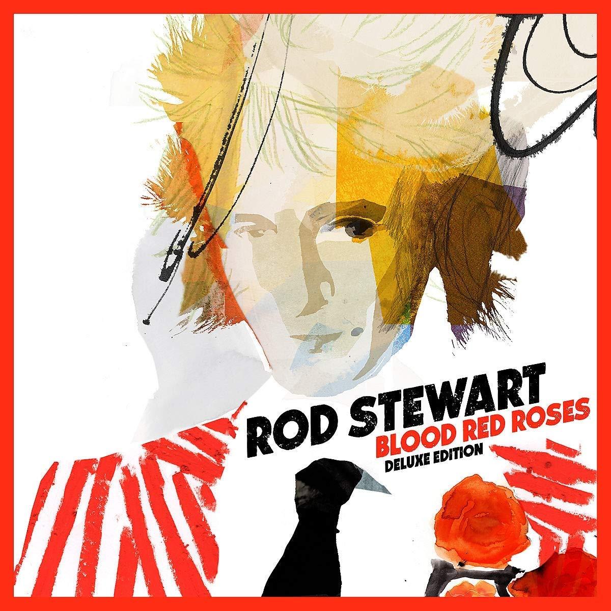 Rod Stewart New Lp Blood Red Roses Tour Listen Best Classic Bands