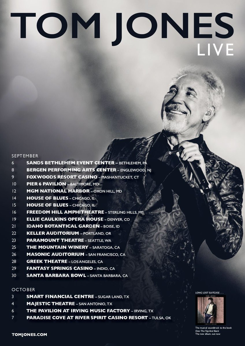 Tony Bennett Tour Dates