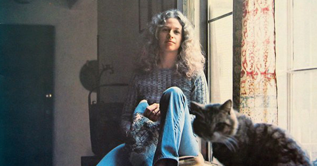 February 10 1971 Carole King Releases Tapestry Best