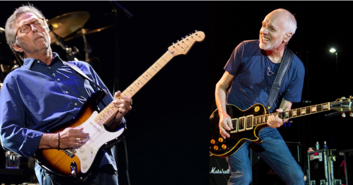 Eric Clapton Crossroads Guitar Festival 2020.Watch Clapton Frampton Play Guitar Together For 1st Time