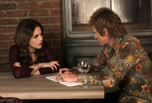 Sex&Drugs&Rock&Roll - Pictured: (l-r) Liz Gillies as Gigi, Denis Leary as Johnny Rock. CR. Patrick Harbron/FX