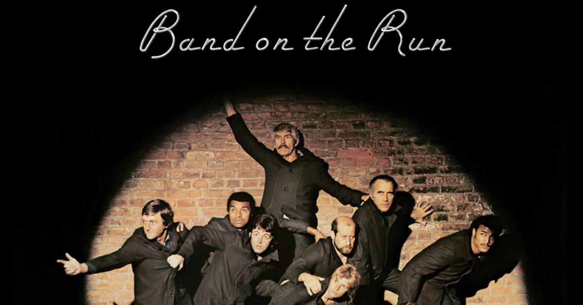 Band On The Run LP That Saved McCartney