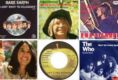 Radio Hits in September 1971: Look Back