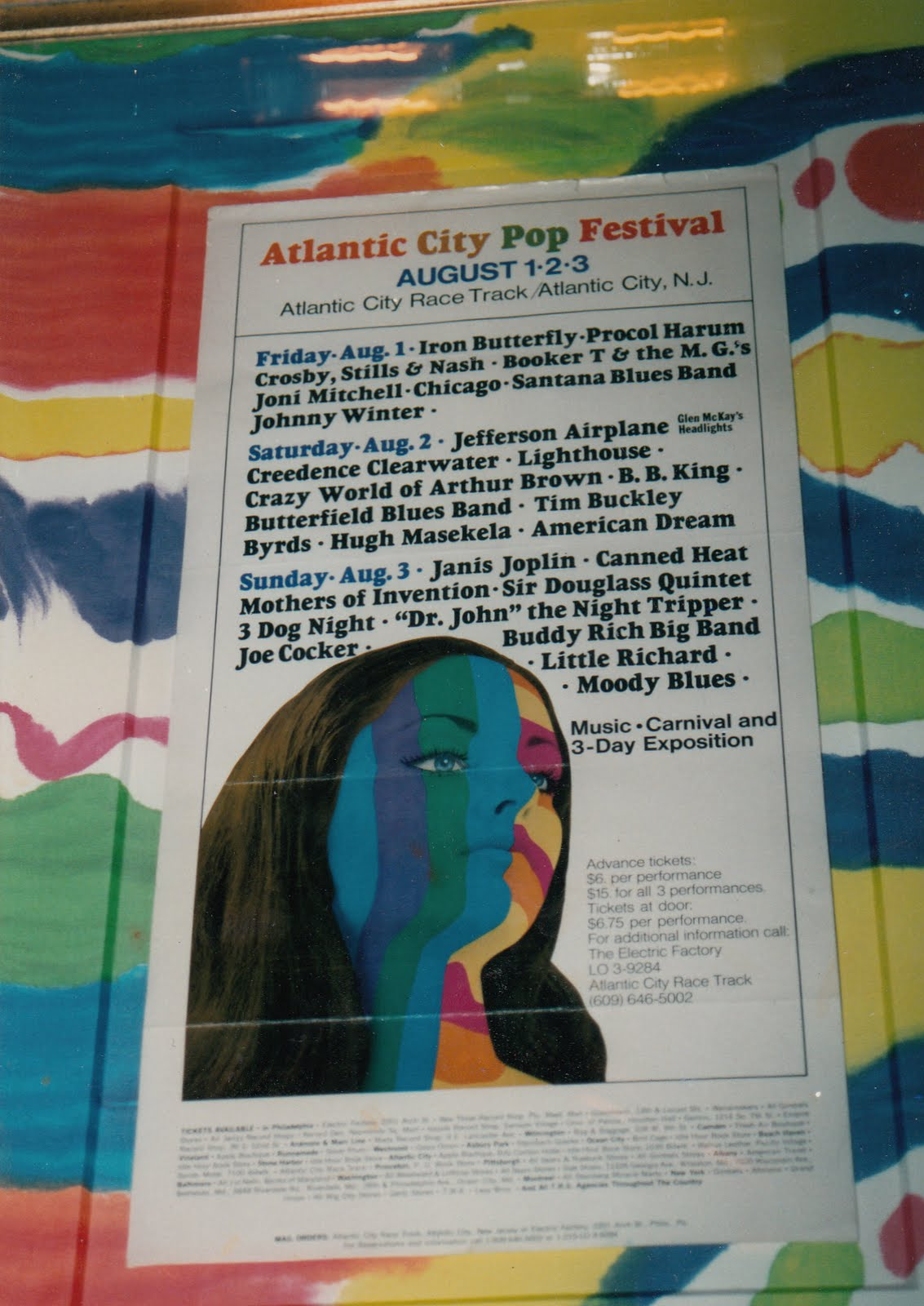 Atlantic City Pop Poster