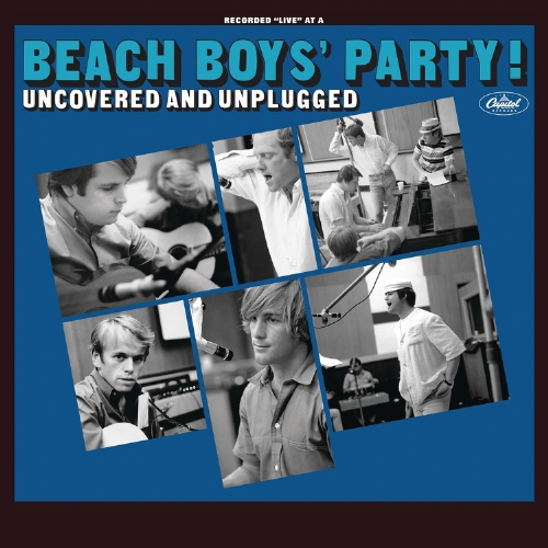 "In November 1965, The Beach Boys released 'Beach Boys' Party!,' a creative and well-loved album of covers mixed with separately recorded party sounds created by the band members, their families and friends. 'Party!' was a Top 10 Billboard hit, quickly going Gold and spawning the timeless No. 2 smash hit, ""Barbara Ann."" To celebrate the album's 50th anniversary, The Beach Boys have overseen a remixed, remastered and expanded edition for release on November 20. 'Beach Boys' Party! Uncovered and Unplugged' removes the overdubbed 'party' sounds and adds 69 more songs and dialog tracks culled from the recording sessions. (PRNewsFoto/Capitol/UMe)"