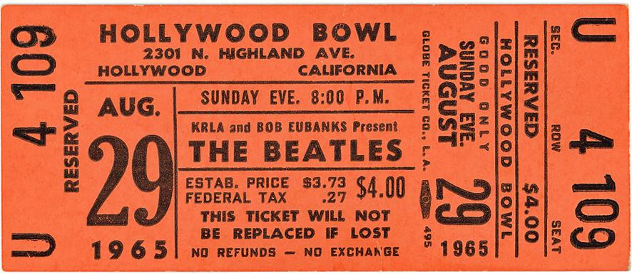 Bowl ticket