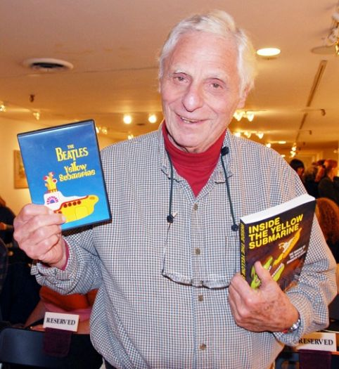 Al Brodax, creator of The Beatles cartoon series