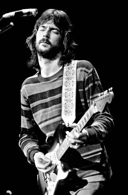 Eric Clapton, Derek & The Dominos, Port Chester, NY, 1970. Photo By ©Elliott Landy, LandyVision Inc.