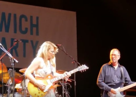 Eric Clapton Headlines Greenwich, CT Town Party