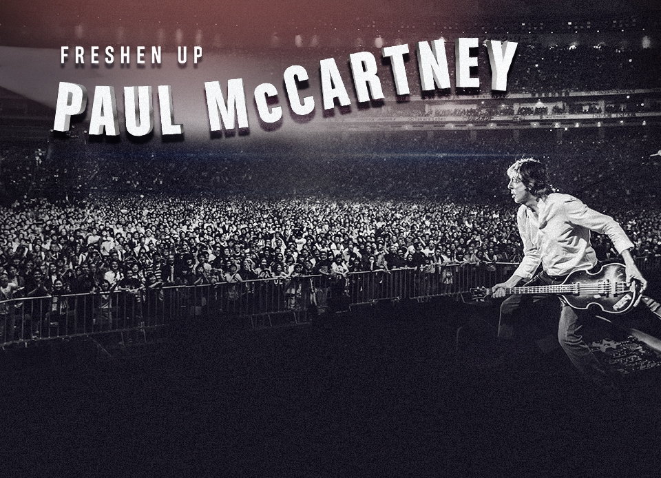 Paul McCartney Adds To 2018 Freshen Up Tour