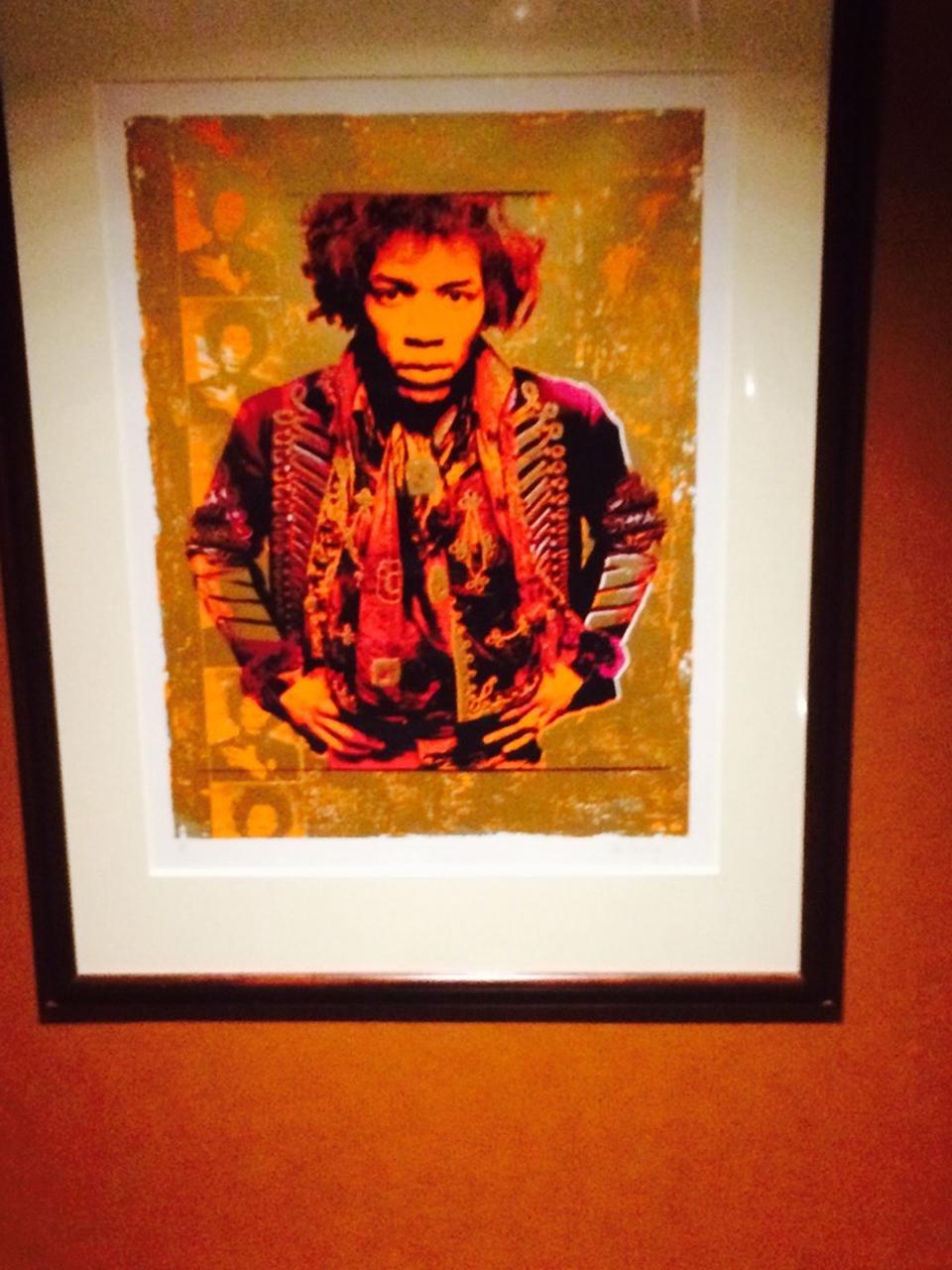 Hendrix still hangs at the studio he built.
