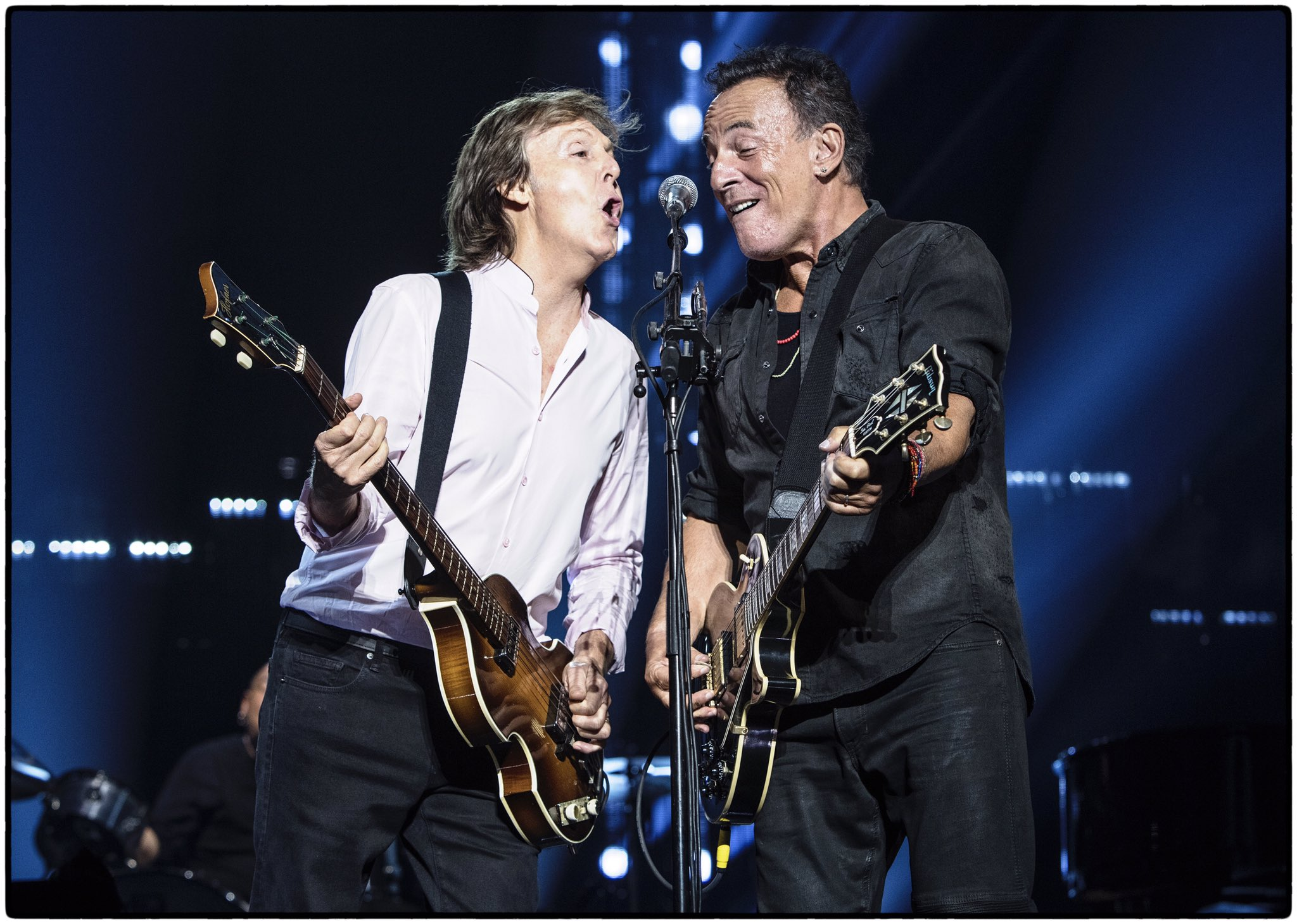 Mccartney Welcomes Guest In Nyc Springsteen Best Classic Bands