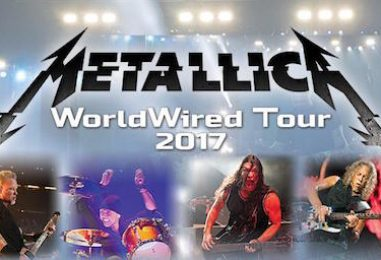 Metallica WorldWired 2017 Tour Follows Grammy Snafu
