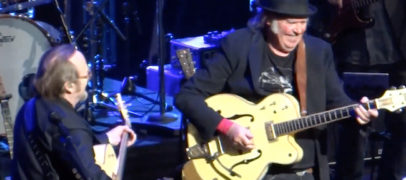 Stephen Stills, Neil Young, Heartbreakers at 2018 Benefit