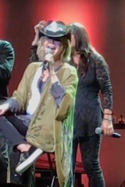 Olivia Newton-John and Audience: A Love-Fest