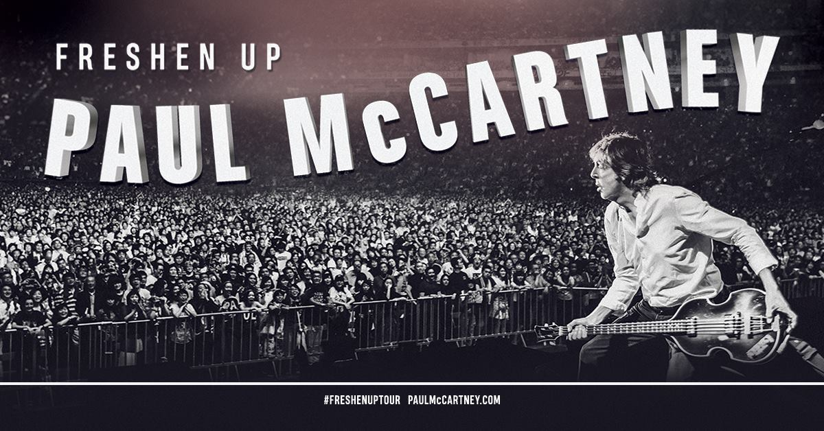 Paul McCartney Adds Dates to 2019 'Freshen Up' Tour | Best