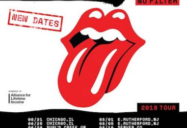 Rolling Stones Announce Rescheduled 2019 Dates