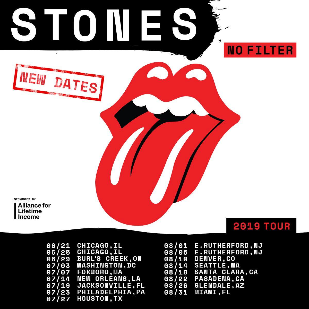 rolling stones announce rescheduled 2019 dates best classic bands. Black Bedroom Furniture Sets. Home Design Ideas
