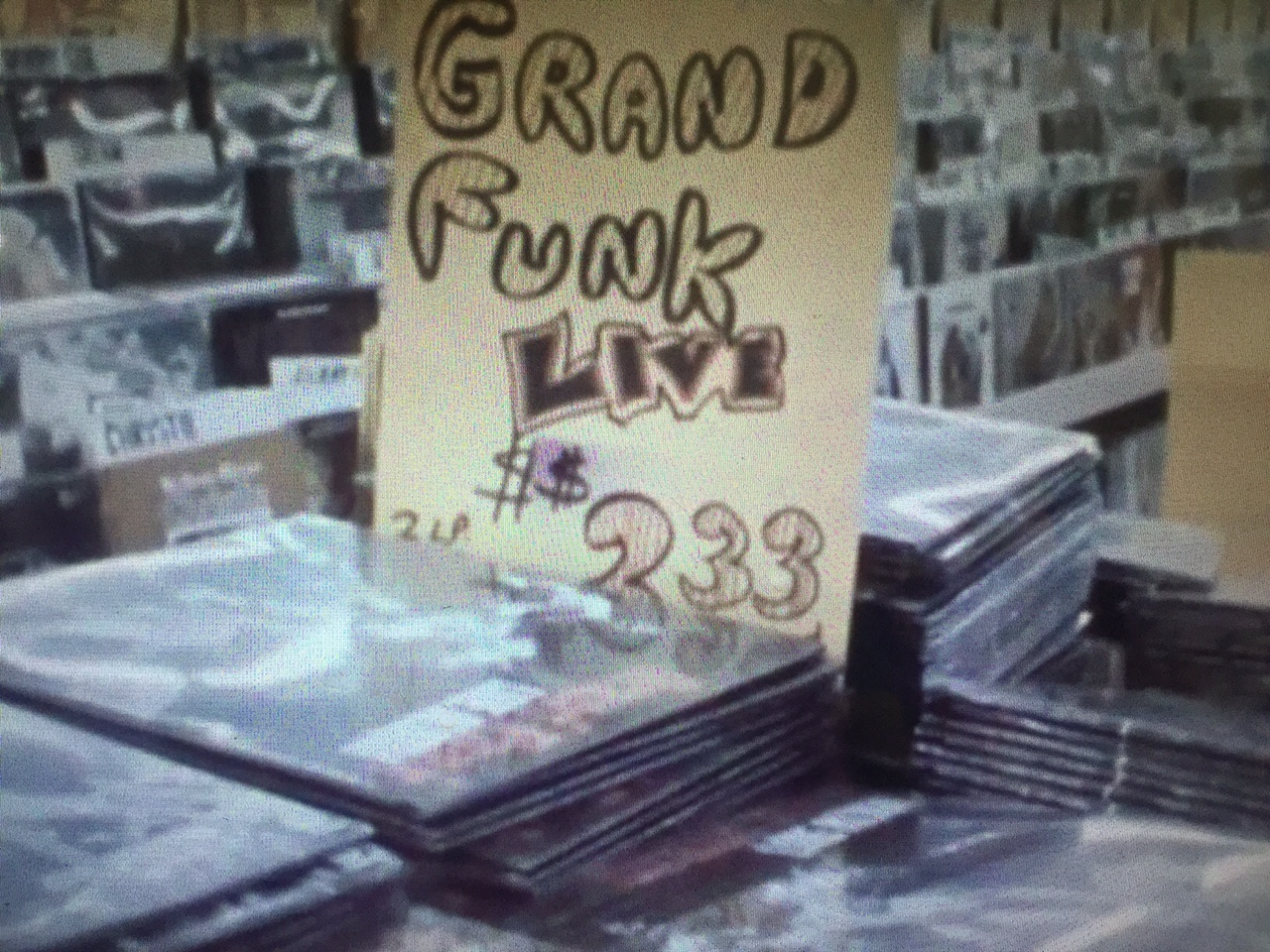 Tower Records Vid Pic - Grand Funk